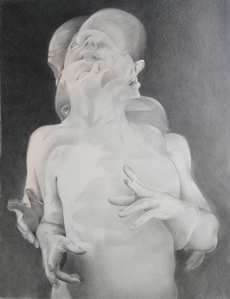 Scott Hutchison - Displaced - Graphite Figure Drawing