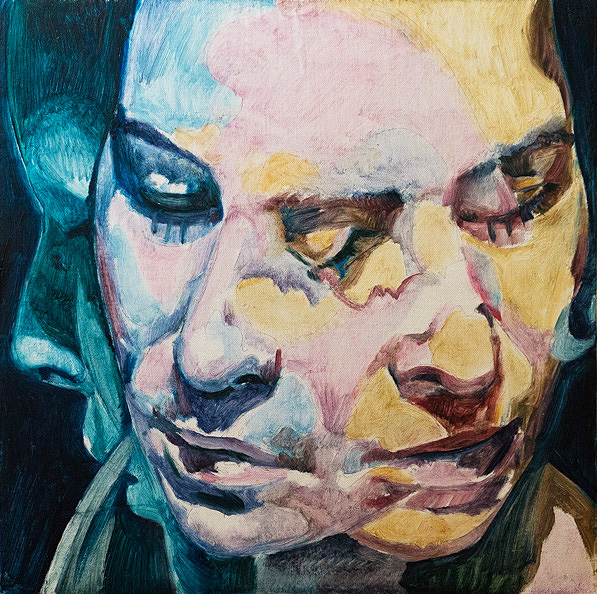 Slipping Away by Scott Hutchison - Underpainting