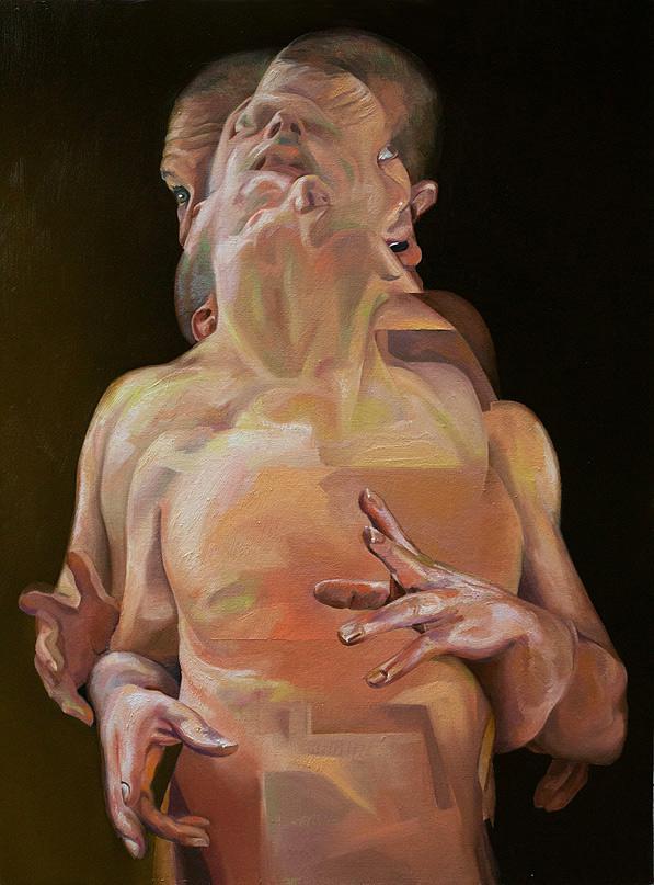 Scott Hutchison - Displaced - Figure Painting in oils - Finished