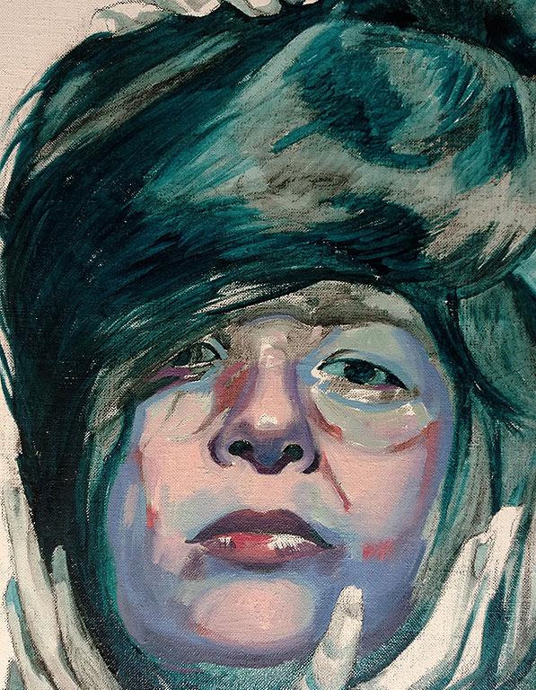 Scott Hutchison - Unwinding Sheba's Hair - Layer-1 - Detail