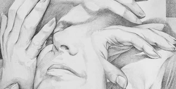 Click here to see Scott Hutchison's Graphite Drawing called Procession