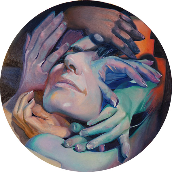 Click here to see Scott Hutchison's painting titled Procession