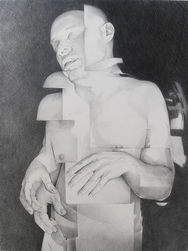 Scott Hutchison - Shift- Graphite Figure Drawing