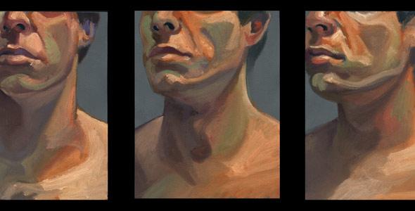 Scott Hutchison - 360 - oil painted portrait animation