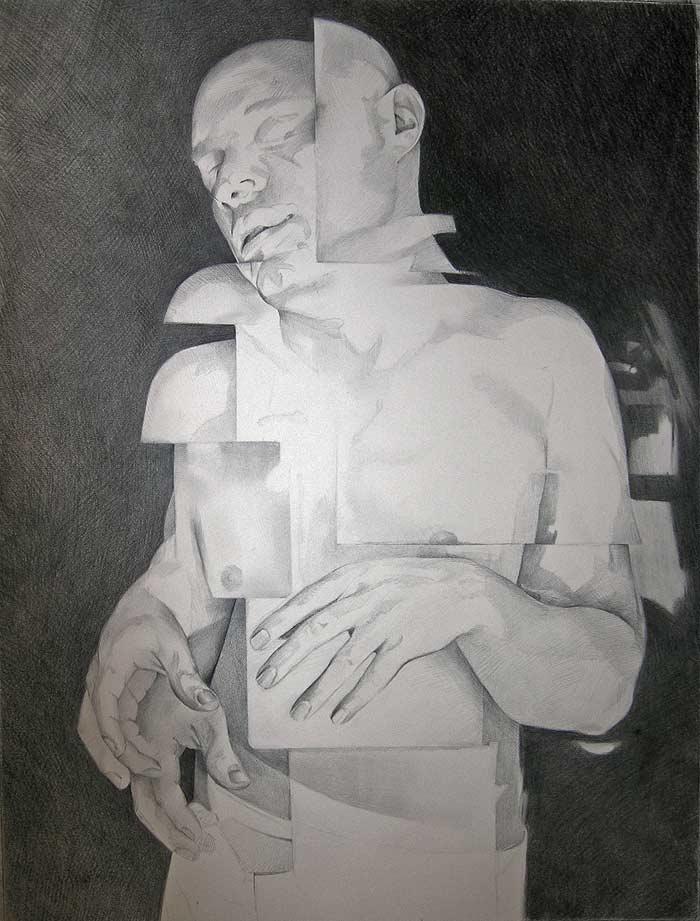 Scott Hutchison - Shift - Graphite Figure Drawing