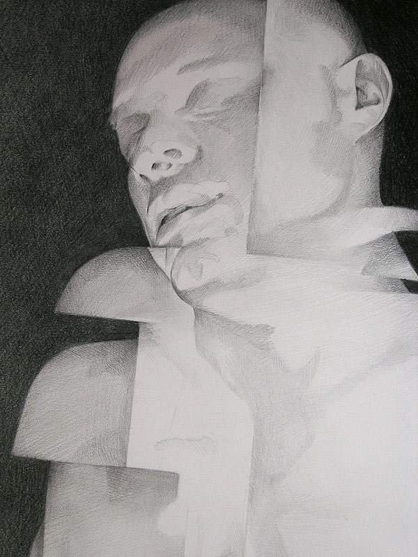 Scott Hutchison - Shift- Detail of Face