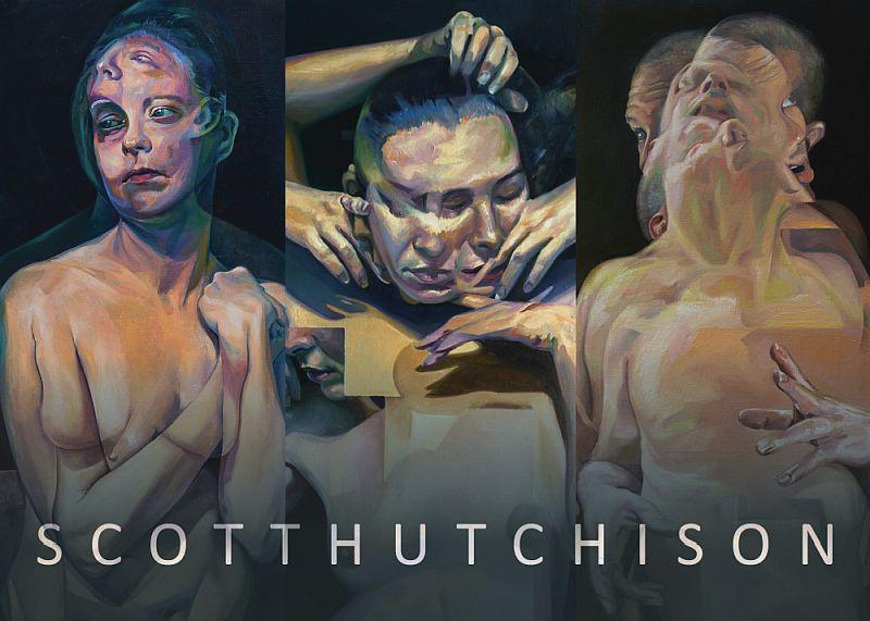 Scott Hutchison - Hillyer Arts Space Postacard