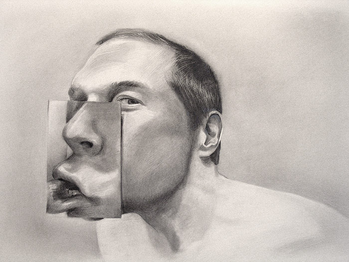 Silent Two- Graphite Portrait by Scott Hutchison