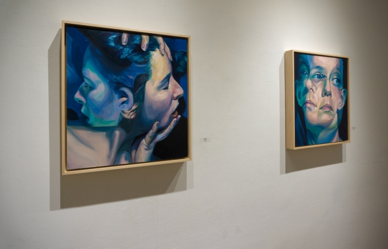 """Entwined"" and ""The Decision"" at the Hillyer Arts Space By Scott Hutchison"