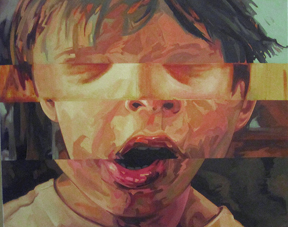 Unfinished - oil on canvas by Scott Hutchison Layer 2