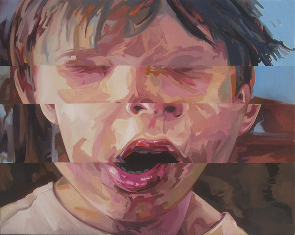 Unfinished - oil on canvas by Scott Hutchison finished